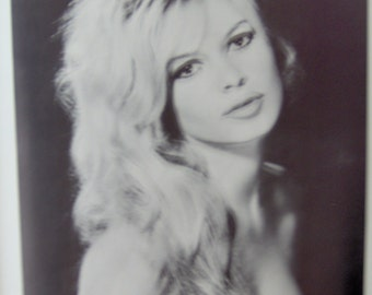 Brigitte Bardot Vintage 1969 poster