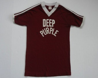 Deep Purple #37 Jersey T-Shirt Vintage 1970s