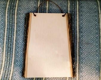 "Custom Wood Plaque 13""x9"" OR 11""x7"""