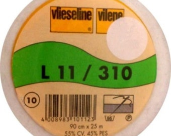 Vilene / Pellon L11/310 White Sew-In Interfacing Half Metre