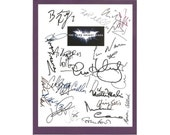 The Dark Knight Rises Movie Script Signed Screenplay Autographed: Christian Bale, Michael Caine, Gary Oldman, Anne Hathaway, Tom Hardy
