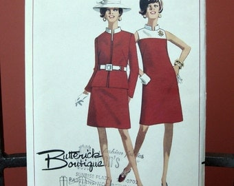 Vintage Uncut Sheath Dress/Jacket Pattern, size 10
