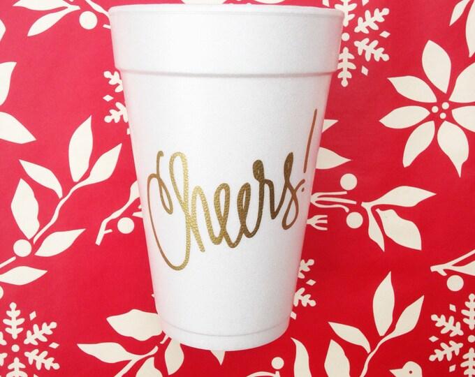 Cheers Foam Cups (Qty 24)