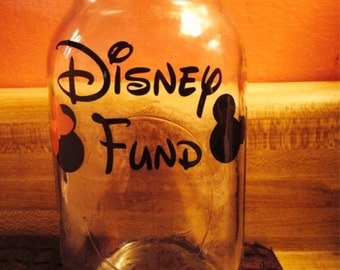 Disney Fund Decal