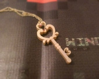 Chibi-Usa Space Time Key Necklace!