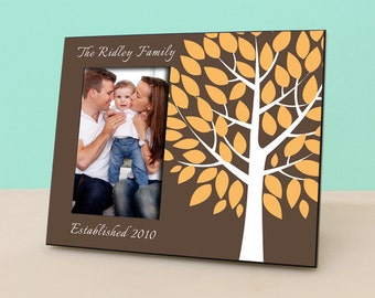 Family Tree Frame - Personalized Picture Frame - Photo Frame Personalized Gift - Parents Gift - Family Gift - Birthday Gift - PF1008