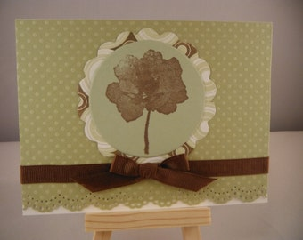 Limited Edition Flower Card