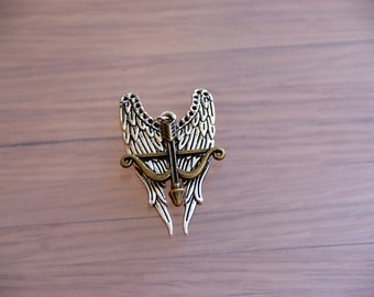 The Walking Dead - Daryl Dixon  - Pendant for necklace
