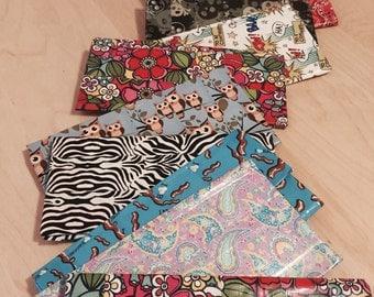 Flower duct tape flip women's wallet for her moolaa!!