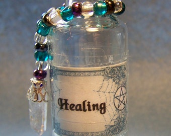 Decorated Spell Bottles