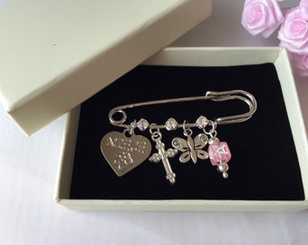 Niece Baptism Gift with Initials