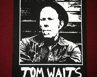 Tom Waits Cloth Punk Patch