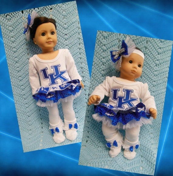 American girl doll clothes Bitty Baby doll clothes University