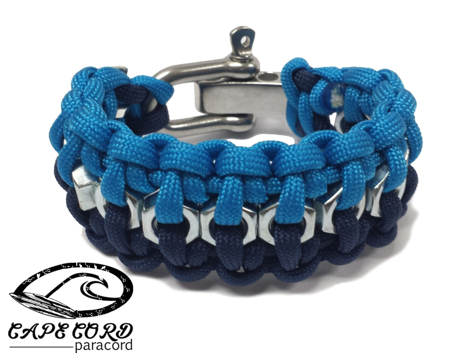 hex nut paracord bracelet stainless steel bracelet hex nut mens paracord by