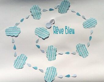 paper garland: Blue dream