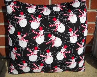 16 x 16 Snowman Pillow Case/Cover