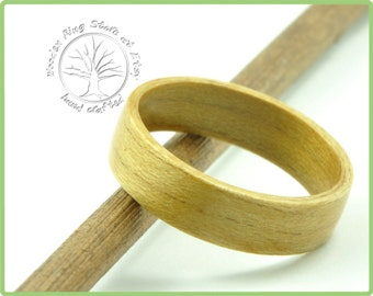 Ash wooden ring, wooden wedding band, tree ring, ash ring. Engagement ring, wedding ring, anniversary gift, ring for other special occasions