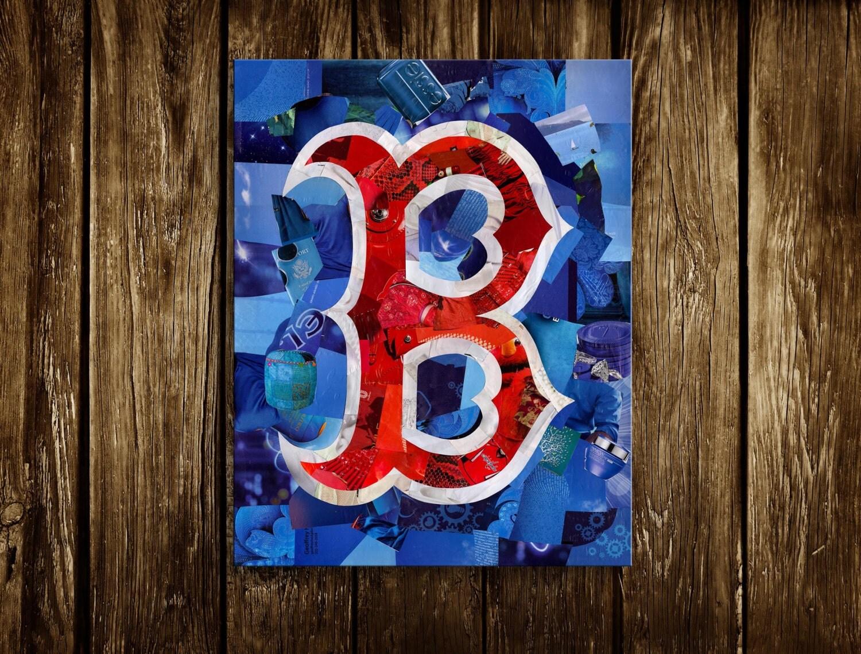 Boston Red Sox Boston Wall Art Boston Strong By Artpoptart