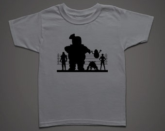 Ghostbuster Suspects Kids Movie t-shirt
