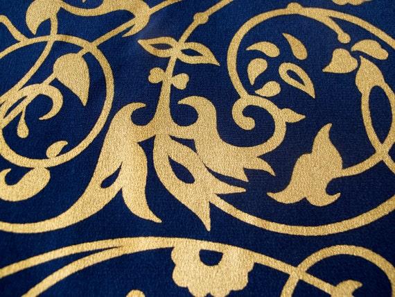 vakko printed silk scarf in original box
