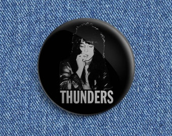 "2 1/4"" Johnny Thunders button"