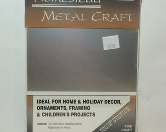 "Tolin' Station Homestead METAL Craft Sheet 5 x 7"""