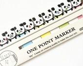 Cute sticky notes, Bookmark, Panda sticky notes