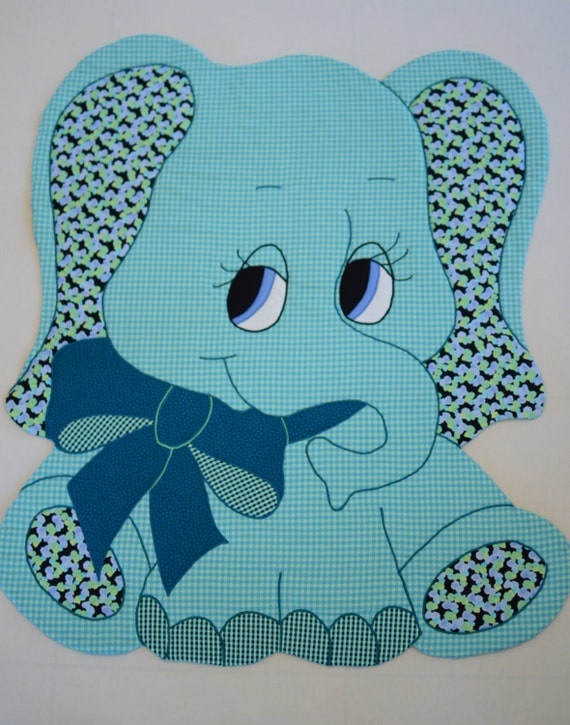 Elephant Vintage Quilt Pattern For Baby Quilts