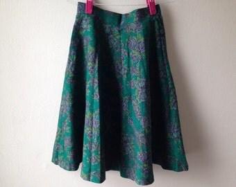 Vintage 1970's Circle Skirt