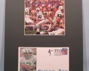Joe Namath and New York Jets win Super Bowl III & Commemorrative Cover