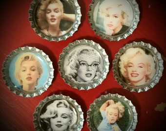 Marilyn Monroe Magnet Set of 7