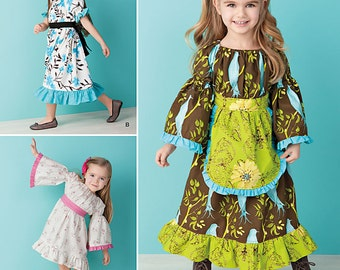 Simplicity Sewing Pattern 1595 Toddlers' and Child's Dress