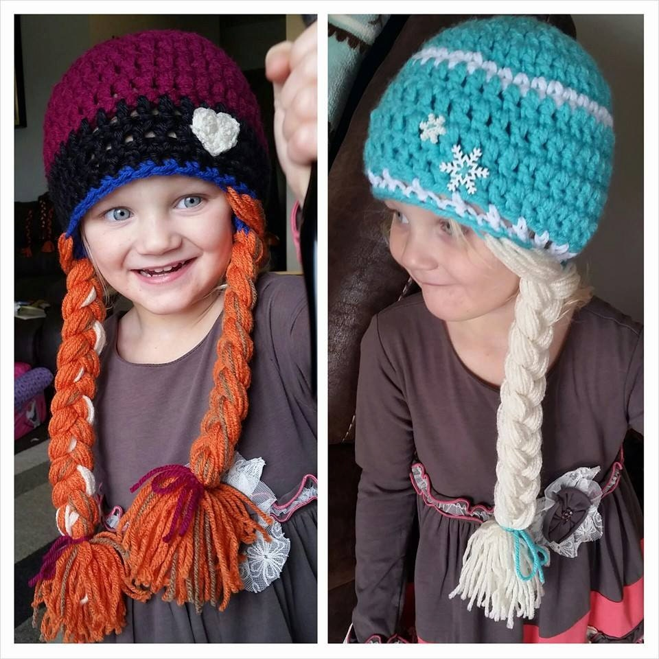Crochet Princess Anna or Queen Elsa Frozen by MadeWithLoveCba