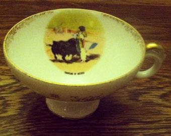 Mexican Bullfighting Teacup