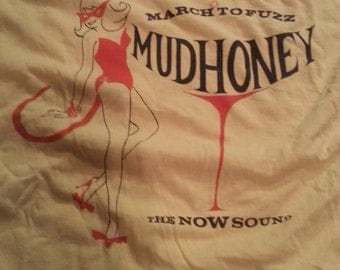 SALE Vintage Mudhoney Shirt circa 1991 EndFest