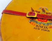 SALE Knox New York Vintage Hat Box
