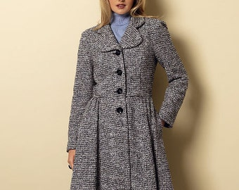 OUT of PRINT Butterick Pattern B6143 Misses' Jacket & Coat