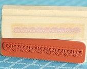 Wooden Stamp  InkWELL Press Planner Stamp   Erin Condren Planner   Lace Stamp  FiloFax Stamp   Planner Stamp  Agenda Rubber Stamp   K28.15