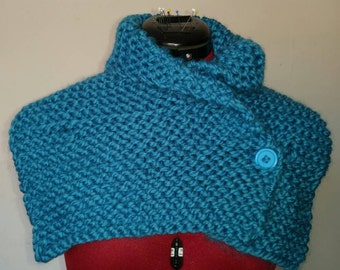 Small blue scarf