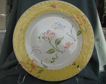 "Springtime 12-1/4"" Round Serving Platter"