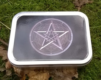 Pocket Altar Kit, Mini Travel Altar - Pagan - Wicca - Druid - Witchcraft - Witch - Goddess - Greenman