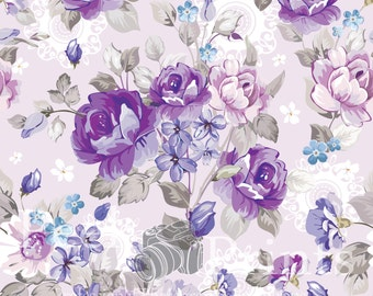 6ftx6ft Roses are PuRple! Vinyl Photography Backdrop