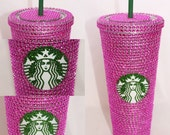 Pink Crystal Starbucks Cold Cup