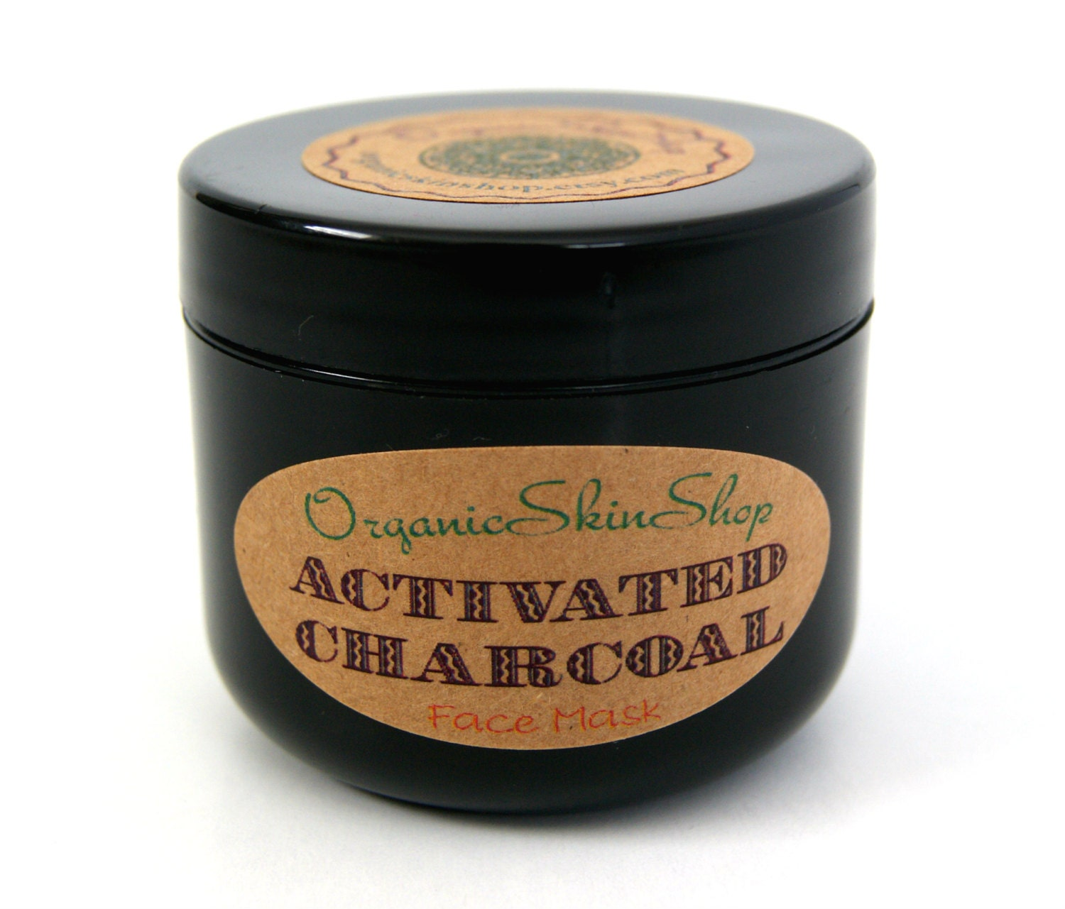Organic Activated Charcoal Face Mask: Activated Charcoal Face Mask With Turmeric Peppermint