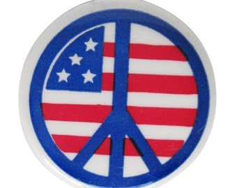 60s Peace Pin