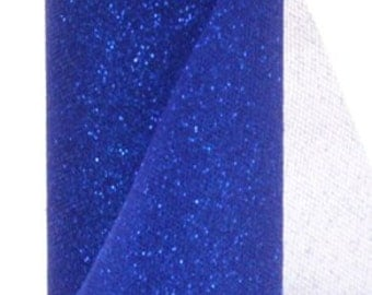 """6"""" ROYAL SPARKLE TULLE - Offray - Vibrant Tulle With a Dusting of Glitter - 25 Yards"""