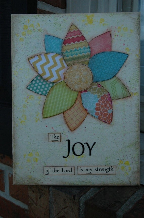 the joy of the lord is my strength coloring page - the joy of the lord is my strength 8 x 10 mixed media canvas