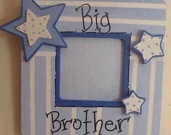 Big brother frame, sibling frame, big sister frame, brothers frame, sisters frame, family frame