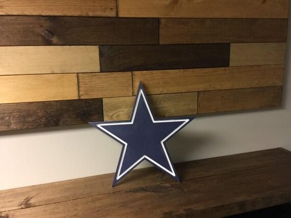 Dallas Cowboys Logo Wood Cutout with by AddictedFurnishings