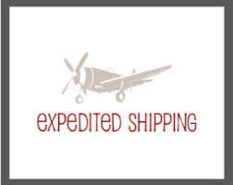 Expedited shipping fee for small items